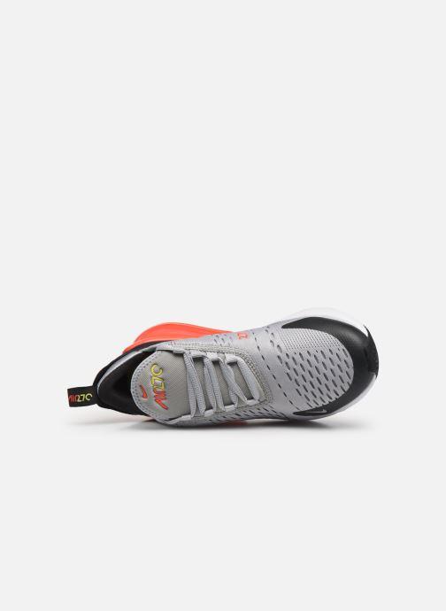Sneaker Nike Nike Air Max 270 (Gs) grau ansicht von links