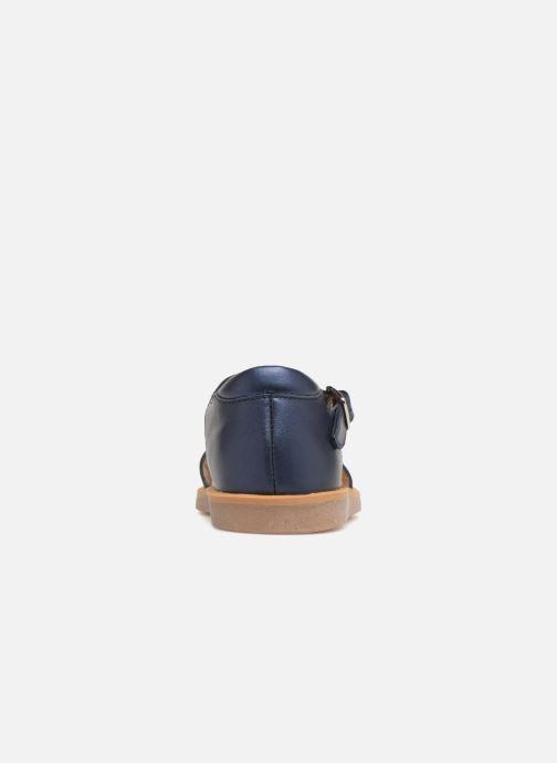 Sandales et nu-pieds Pom d Api Poppy Balloon Bleu vue droite