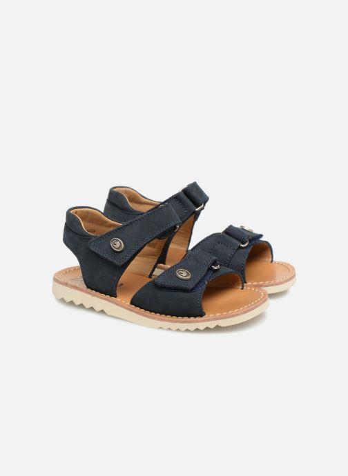 Sandaler Pom d Api Waff Easy Blå 3/4 bild