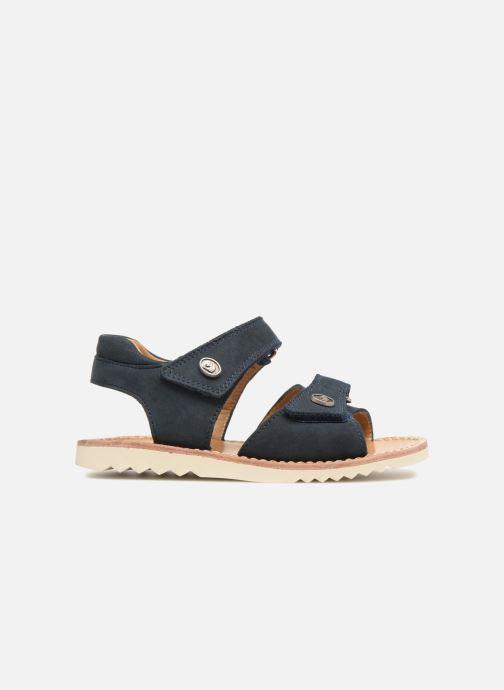 Sandaler Pom d Api Waff Easy Blå bild från baksidan