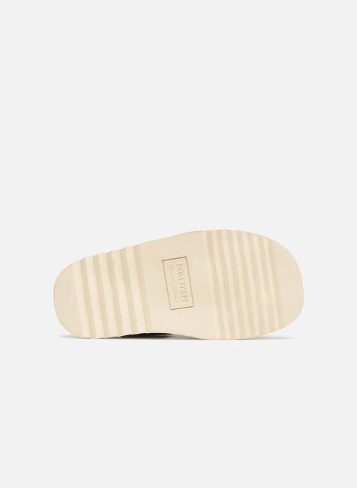 Sandales et nu-pieds Pom d Api Waff Easy Bleu vue haut