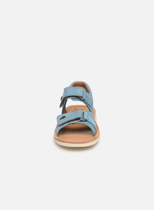 Sandals Pom d Api Waff Easy Blue model view
