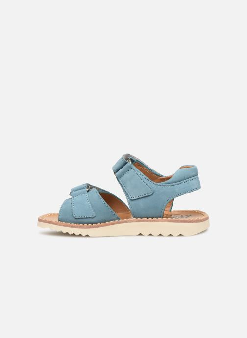 Sandals Pom d Api Waff Easy Blue front view