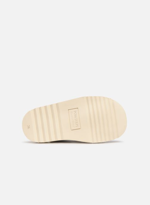 Sandals Pom d Api Waff Easy Blue view from above