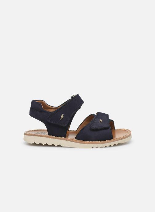 Sandali e scarpe aperte Pom d Api Waff Easy Azzurro immagine posteriore