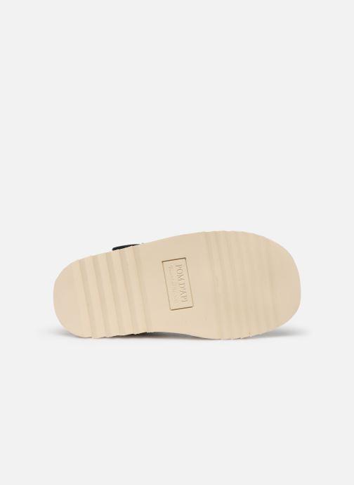 Sandali e scarpe aperte Pom d Api Waff Easy Azzurro immagine dall'alto