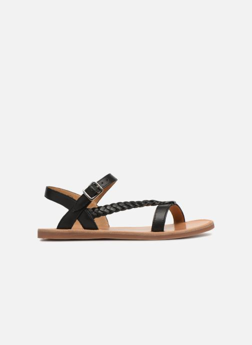 Sandals Pom d Api Plagette Antik Black back view