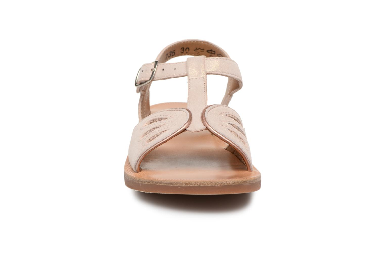 Sandales et nu-pieds Pom d Api Plagette Daisy Rose vue portées chaussures