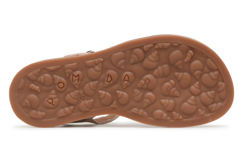 Sandales et nu-pieds Pom d Api Plagette Daisy Rose vue haut