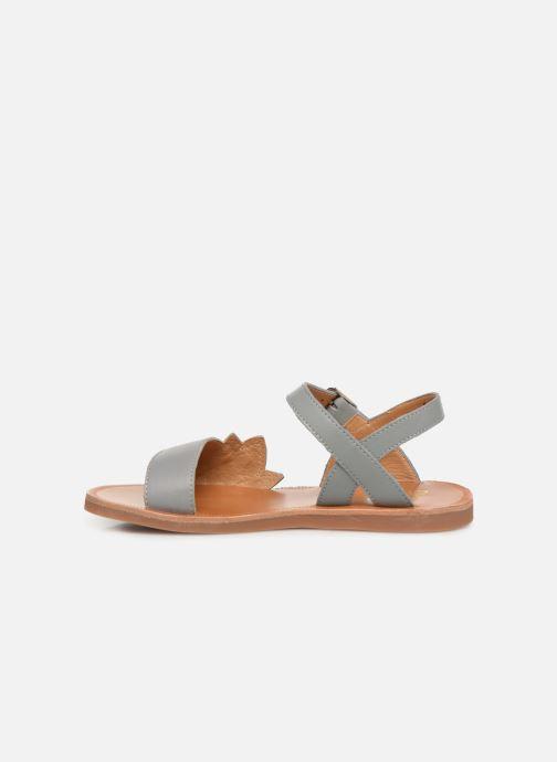 Sandales et nu-pieds Pom d Api Plagette Lotus Or et bronze vue face