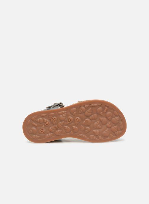 Sandales et nu-pieds Pom d Api Plagette Lotus Or et bronze vue haut
