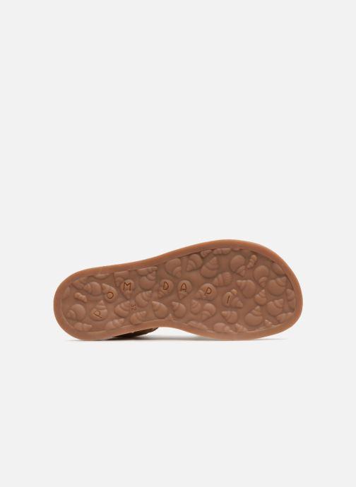 Sandales et nu-pieds Pom d Api Plagette Diana Marron vue haut