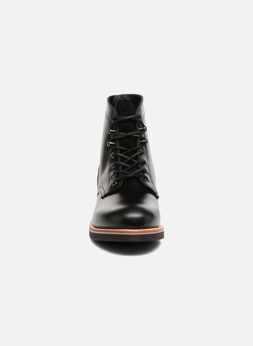 Bottines et boots G.H. Bass DUXBURY Boot Plain Toe/000 Noir vue portées chaussures