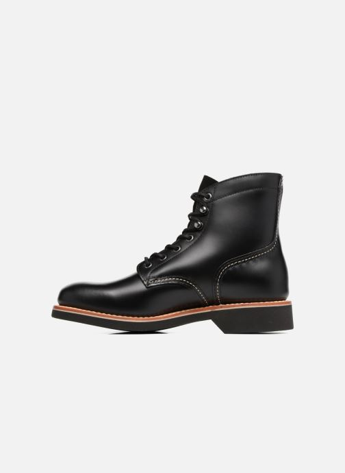 Bottines et boots G.H. Bass DUXBURY Boot Plain Toe/000 Noir vue face