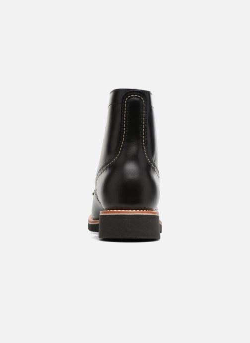 Bottines et boots G.H. Bass DUXBURY Boot Plain Toe/000 Noir vue droite