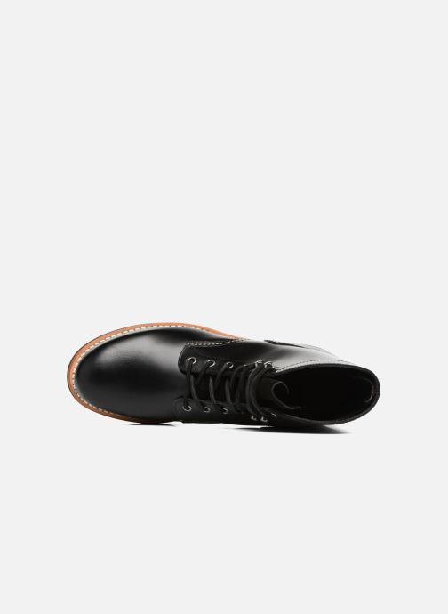 Bottines et boots G.H. Bass DUXBURY Boot Plain Toe/000 Noir vue gauche