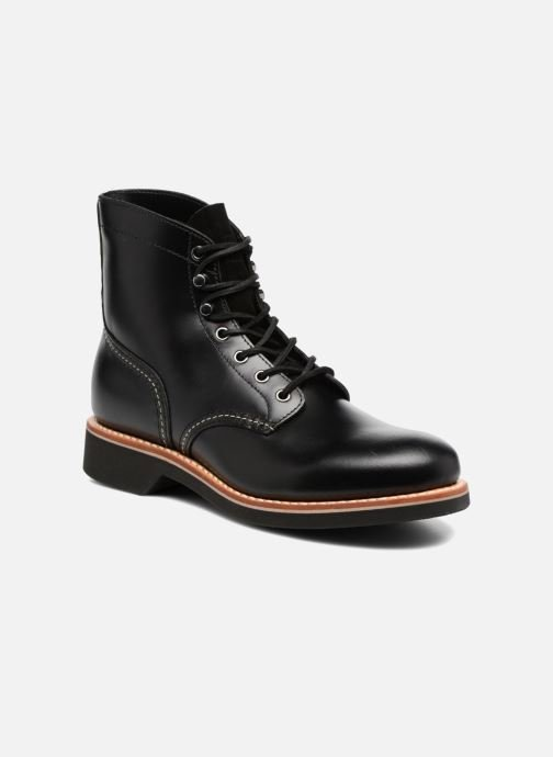 Bottines et boots G.H. Bass DUXBURY Boot Plain Toe/000 Noir vue détail/paire