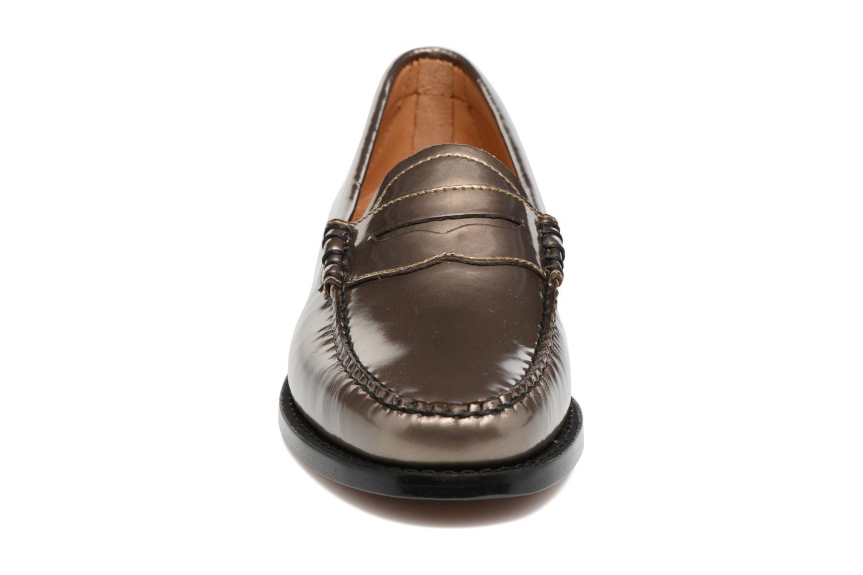 Mocassins G.H. Bass WEEJUN WMN Penny Wheel Print Or et bronze vue portées chaussures