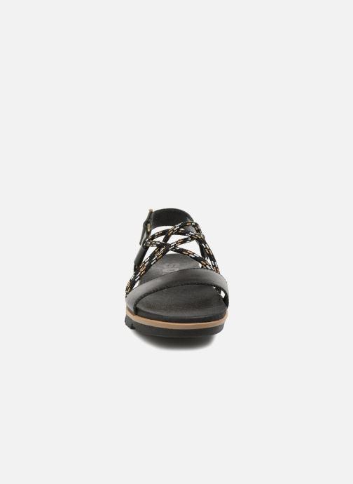 Sandales et nu-pieds Sorel Torpeda Sandal II Noir vue portées chaussures