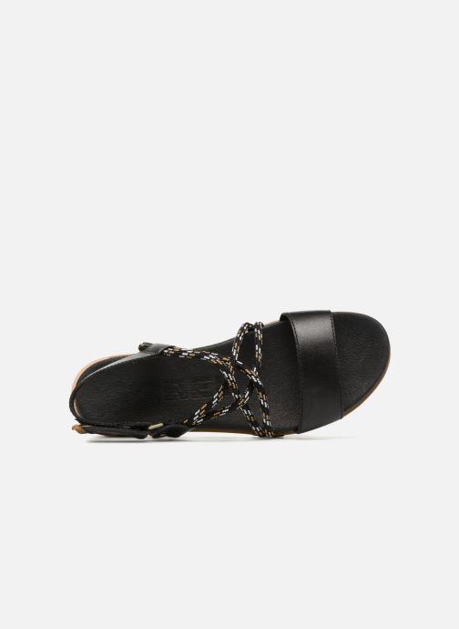 Sandales et nu-pieds Sorel Torpeda Sandal II Noir vue gauche