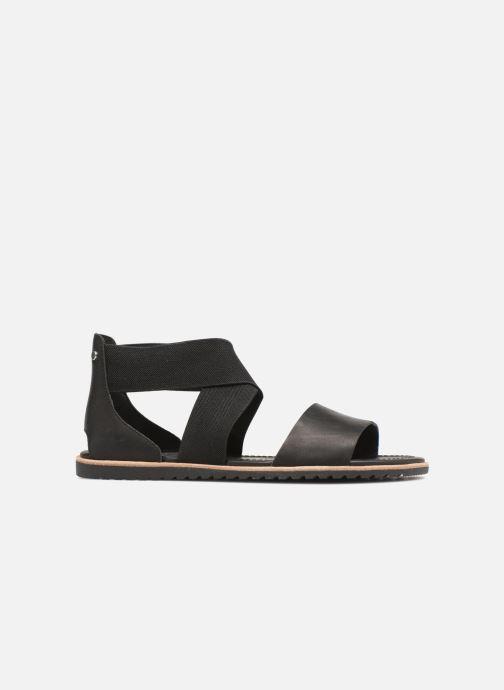 Sandales et nu-pieds Sorel Ella Sandal Noir vue derrière