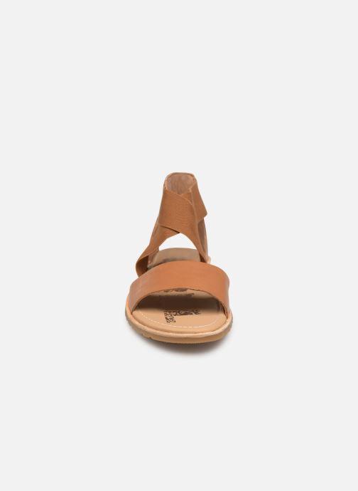Sandales et nu-pieds Sorel Ella Sandal Marron vue portées chaussures