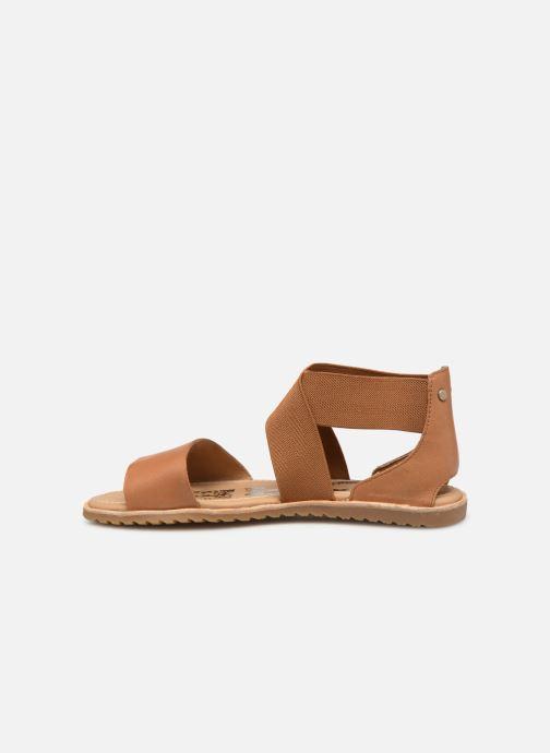 Sandales et nu-pieds Sorel Ella Sandal Marron vue face