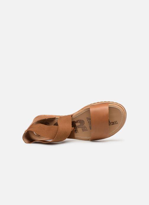 Sandales et nu-pieds Sorel Ella Sandal Marron vue gauche