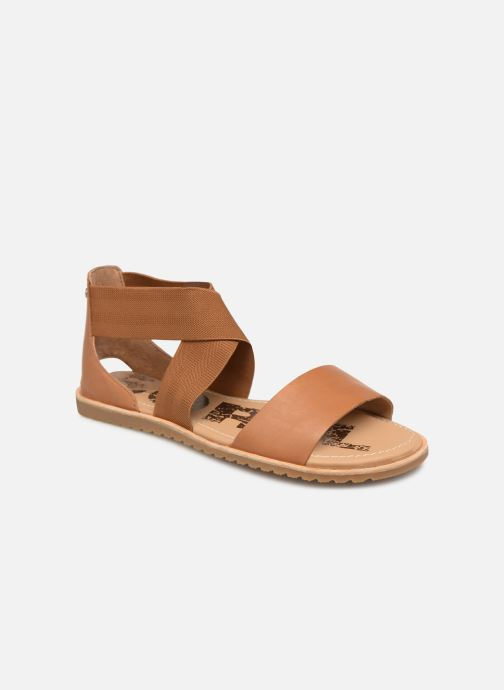 Sandales et nu-pieds Sorel Ella Sandal Marron vue détail/paire
