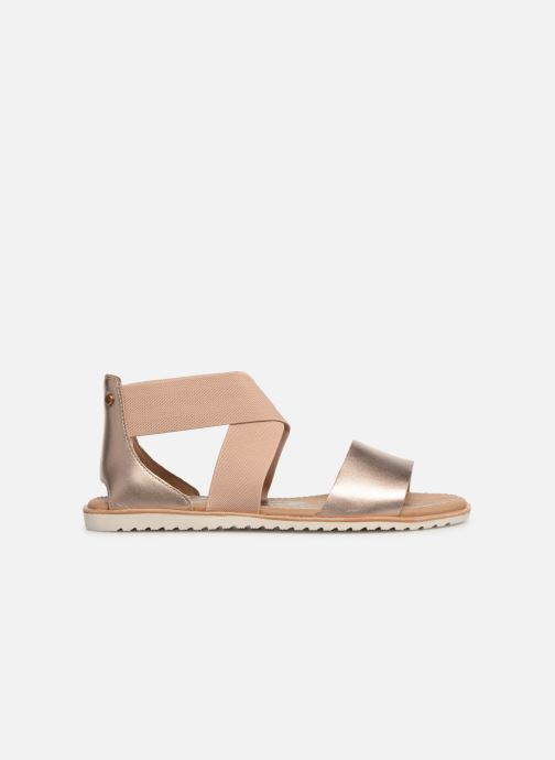 Sandales et nu-pieds Sorel Ella Sandal Or et bronze vue derrière