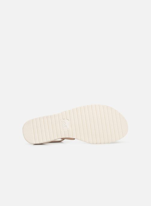 Sandales et nu-pieds Sorel Ella Sandal Or et bronze vue haut