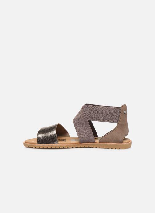 Sandales et nu-pieds Sorel Ella Sandal Gris vue face
