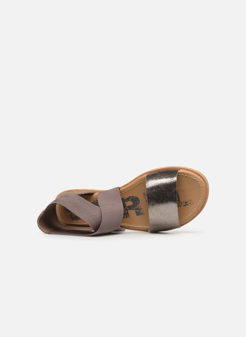 Sandales et nu-pieds Sorel Ella Sandal Gris vue gauche