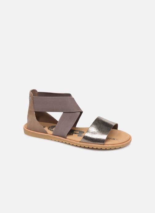 Sandales et nu-pieds Sorel Ella Sandal Gris vue détail/paire