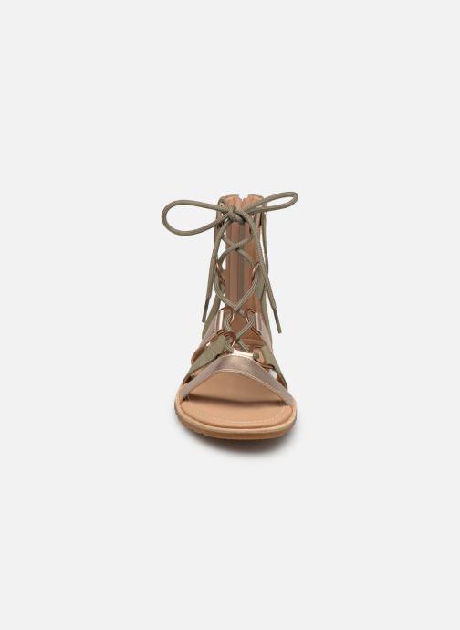 Sandals Sorel Ella Lace Up Green model view