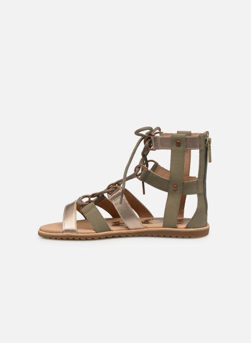 Sandales et nu-pieds Sorel Ella Lace Up Vert vue face