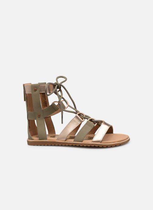 Sandales et nu-pieds Sorel Ella Lace Up Vert vue derrière