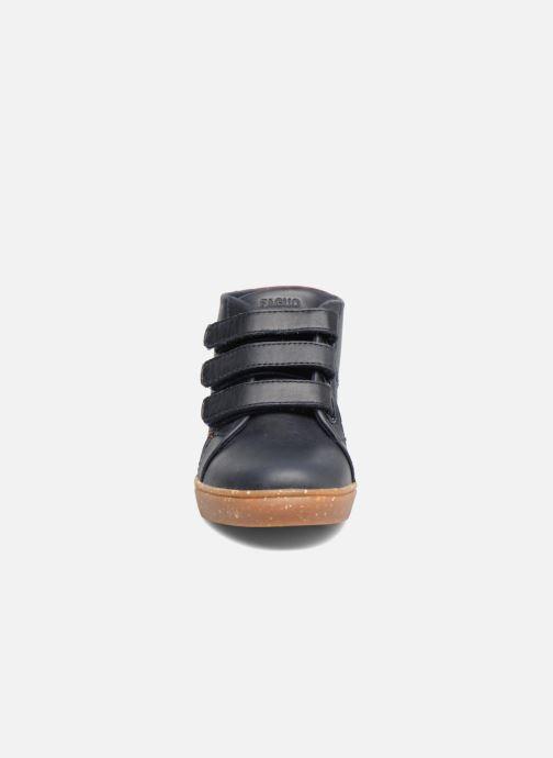 Sneakers Faguo ASPEN VELCRO LEATHER Blauw model