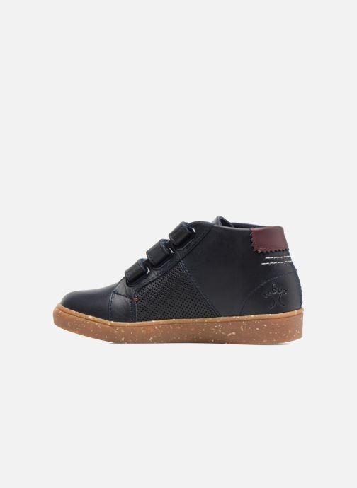 Sneakers Faguo ASPEN VELCRO LEATHER Blauw voorkant