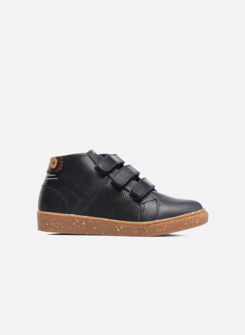 Sneakers Faguo ASPEN VELCRO LEATHER Blauw achterkant