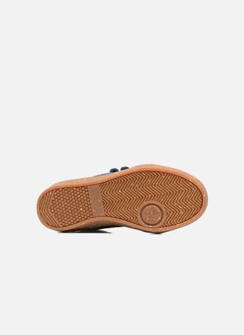 Sneakers Faguo ASPEN VELCRO LEATHER Blauw boven