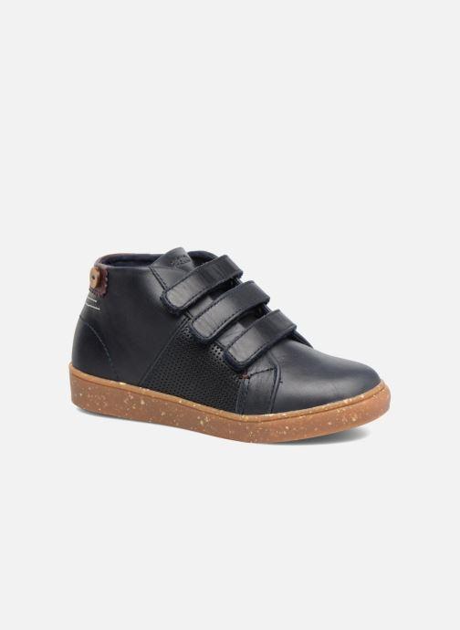 Sneakers Faguo ASPEN VELCRO LEATHER Blauw detail
