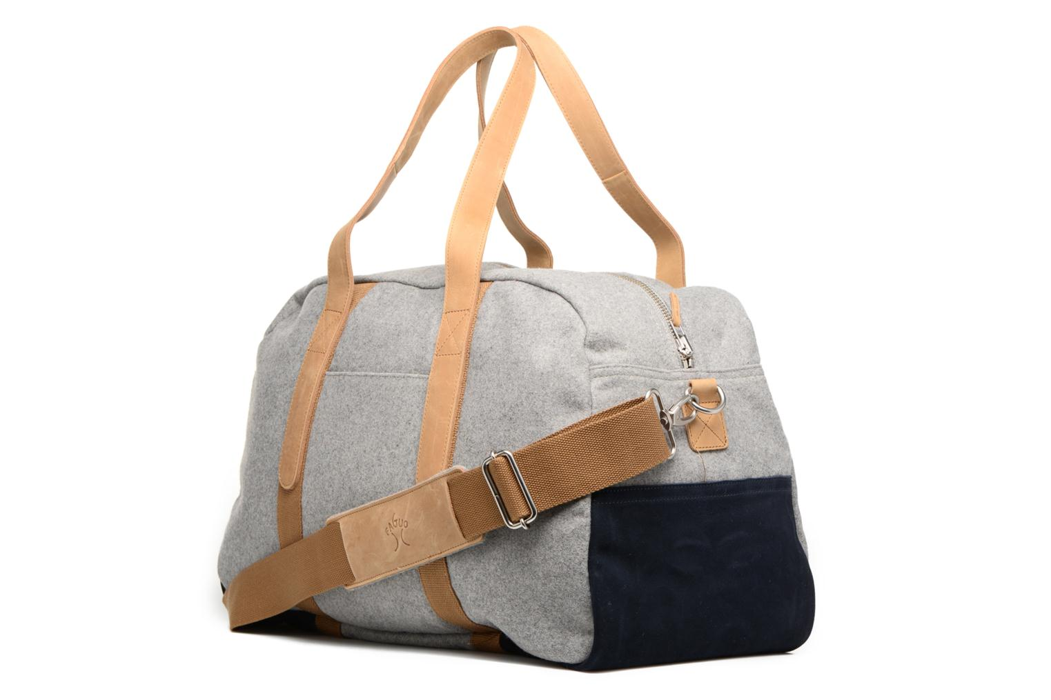 LIGHT GREY Faguo NAV BAG48 WOOL 4qfwHSg