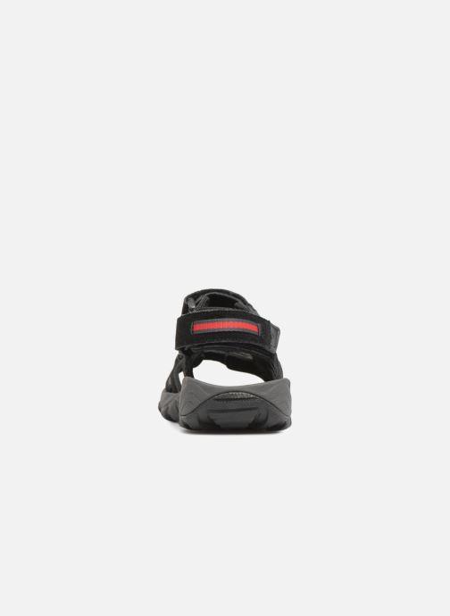 Chaussures de sport Columbia Santiam 3 Strap Noir vue droite