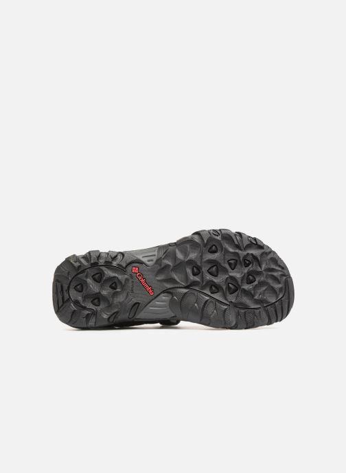 Chaussures de sport Columbia Santiam 3 Strap Noir vue haut