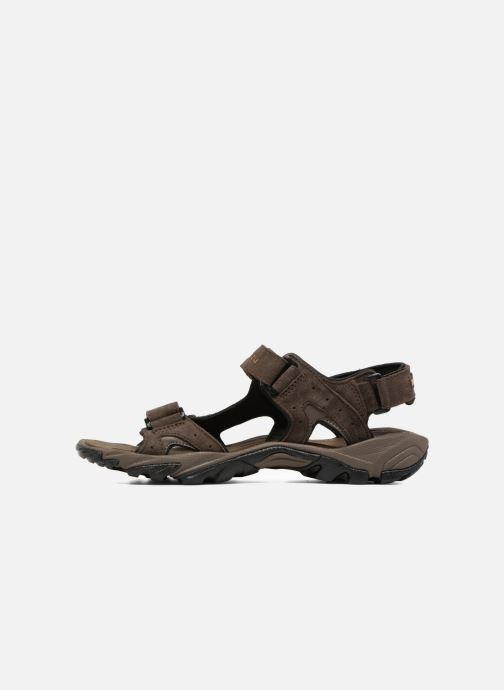 Chaussures de sport Columbia Santiam 3 Strap Marron vue face