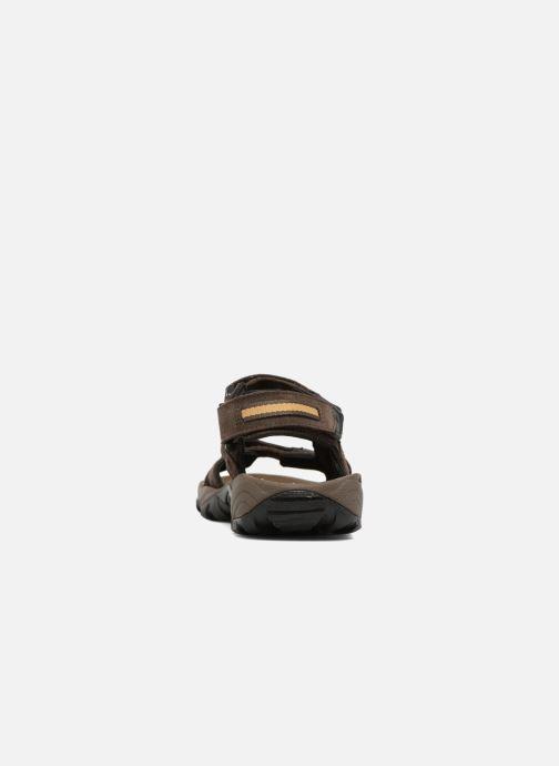 Chaussures de sport Columbia Santiam 3 Strap Marron vue droite