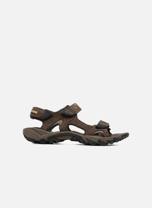 Scarpe sportive Columbia Santiam 3 Strap Marrone immagine posteriore