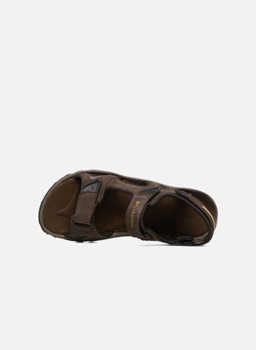 Chaussures de sport Columbia Santiam 3 Strap Marron vue gauche