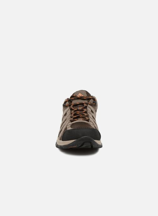 Chaussures de sport Columbia Canyon Point Marron vue portées chaussures